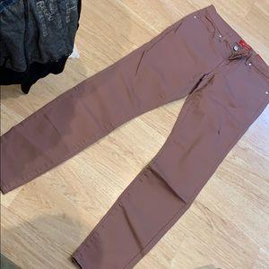 Purple guess jeans